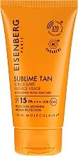Düfte, Parfümerie und Kosmetik Anti-Aging Sonnenschutzpflege für das Gesicht SPF 15 - Jose Eisenberg Anti-Ageing Facial Sun Care SPF 15