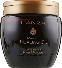 Düfte, Parfümerie und Kosmetik Intensiv pflegende Haarmaske mit Keratin - L'anza Keratin Healing Oil Intesive Hair Masque