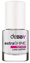 Düfte, Parfümerie und Kosmetik Langanhaltender Nagelüberlack mit Glanz-Effekt - Debby Extra Shine Top Coat