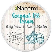 Düfte, Parfümerie und Kosmetik Kokos Öl-Creme für Gesicht und Körper - Nacomi Coconut Cream