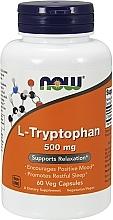 Düfte, Parfümerie und Kosmetik Nahrungsergänzungsmittel L-Tryptophan 500 mg - Now Foods L-Tryptophan