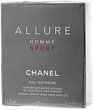 Düfte, Parfümerie und Kosmetik Chanel Allure Homme Sport Eau Extreme - Duftset (Eau de Toilette 20ml + Refills 2x20ml)