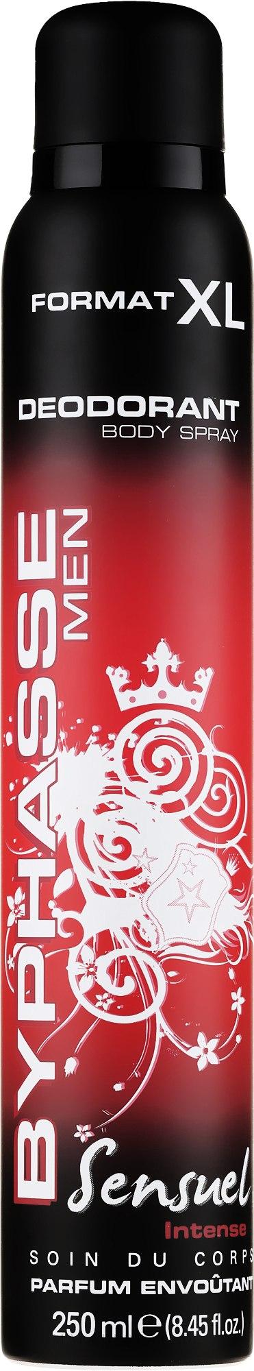 Deospray für Männer - Byphasse Deodorant Sensuel Men — Bild 250 ml