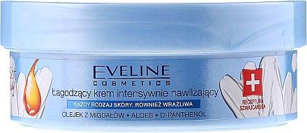 Intensiv feuchtigkeitsspendende und beruhigende Körper- und Gesichtscreme - Eveline Cosmetics Extra Soft Family Cream — Bild N2