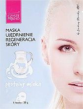 Düfte, Parfümerie und Kosmetik Regenerierende Gesichtsmaske mit Milcheiweiß - Czyste Piekno Face Mask