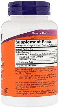 Kollagen in Kapseln 120 St. - Now Foods BioCell Collagen Hydrolyzed Type II — Bild N2