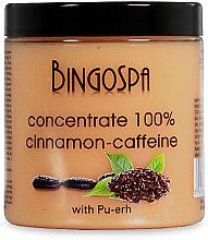 Düfte, Parfümerie und Kosmetik Zimt-Koffein-Schlankheitskonzentrat 100% - BingoSpa Concentrate 100% Cinnamon-Extract Caffeine