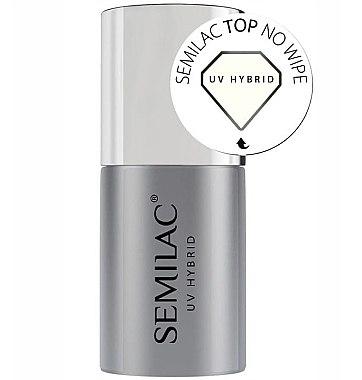 UV Nagelüberlack - Semilac UV Hybrid No Wipe — Bild N1