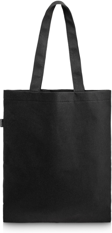 Einkaufstasche Perfect Style schwarz - MakeUp Eco Friendly Tote Bag Black (45 x 30 cm)