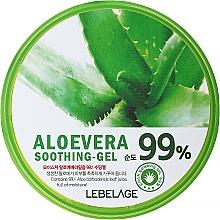Düfte, Parfümerie und Kosmetik Beruhigendes und feuchtigkeitsspendendes Gesichts- und Körpergel mit 99% Aloe Vera - Lebelage Moisture Aloe Vera 99% Soothing Gel