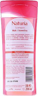 Shampoo für gefärbtes Haar mit Mohn und Baumwolle - Joanna Naturia Shampoo With Poppy And Cotton — Bild N2