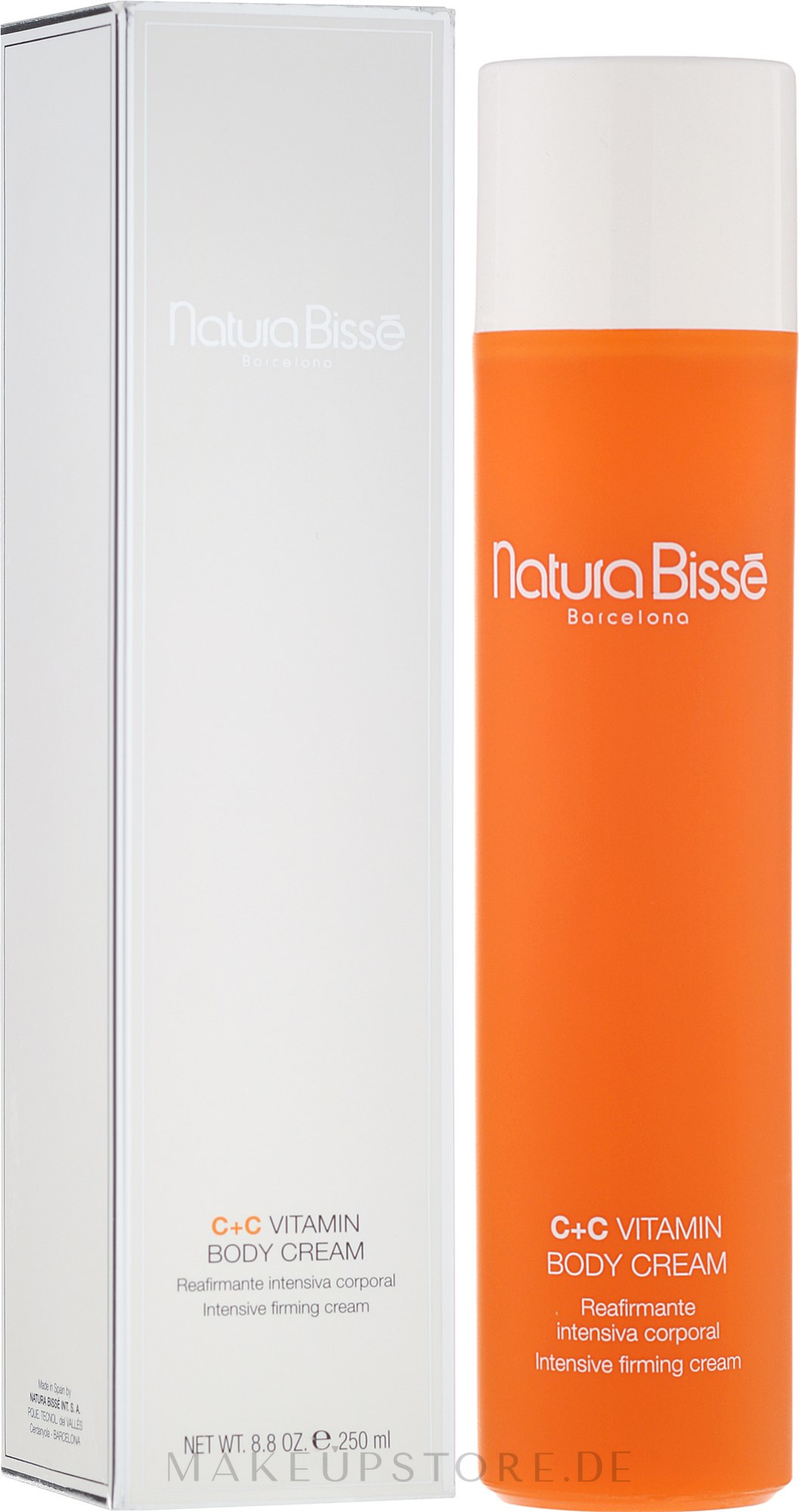 Körpercreme mit Vitaminen - Natura Bisse C+C Vitamin Body Cream — Bild 250 ml