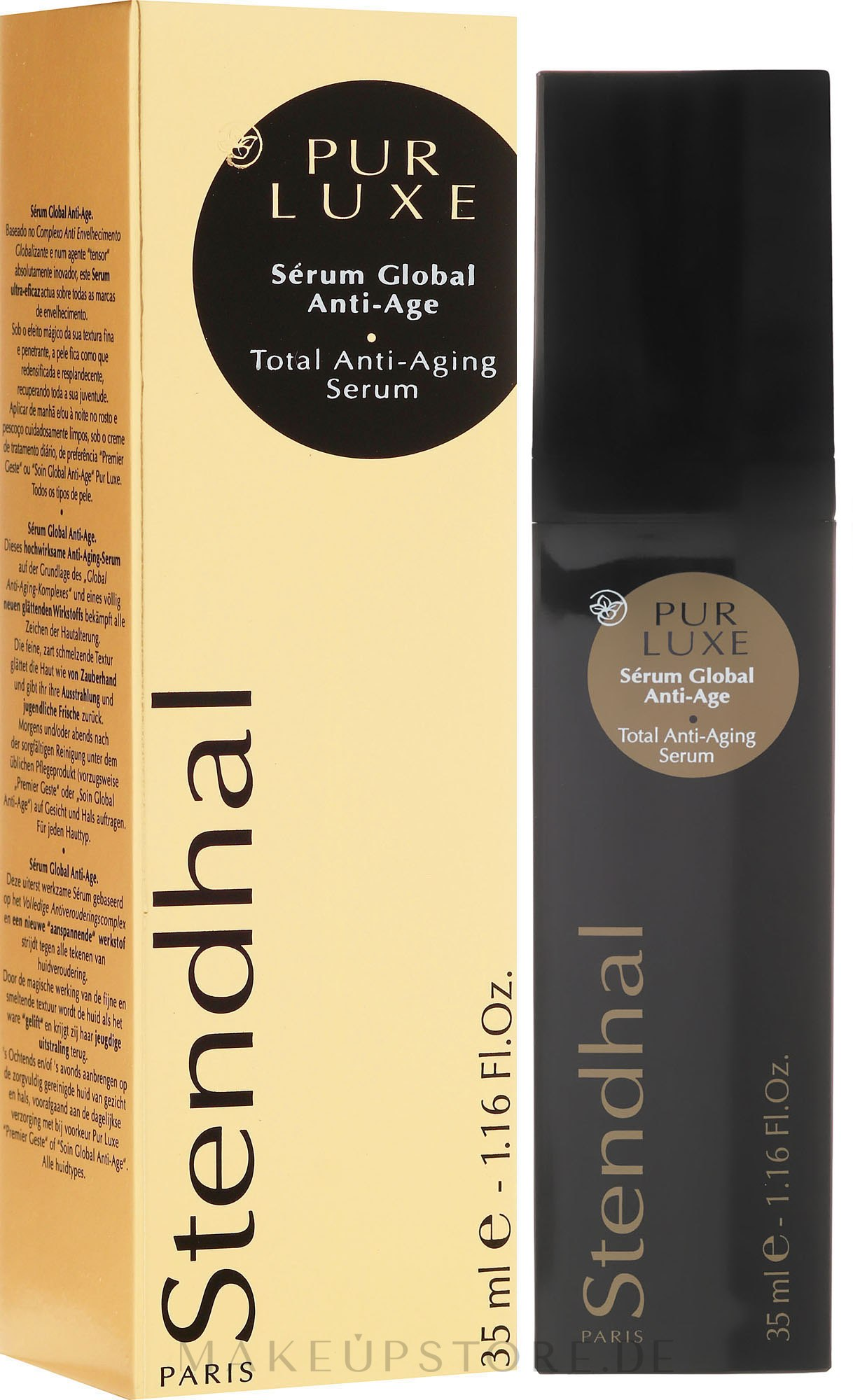 Anti-Aging Gesichtsserum - Stendhal Pur Luxe Total Anti-Aging Serum — Bild 35 ml