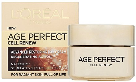 Regenerierende Tagescreme - L'Oreal Paris Age Perfect Cell Renew Day Cream — Bild N1