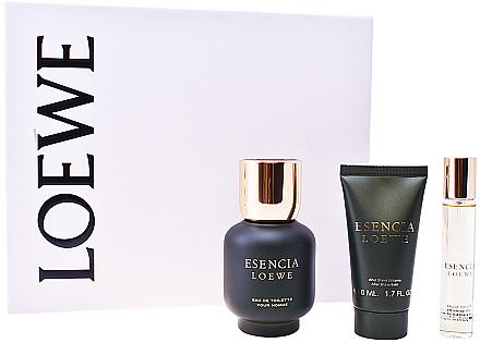 Loewe Esencia Pour Homme - Duftset (Eau de Toilette/100ml +After Shave Balsam/50ml + Eau de Toilette/20ml)  — Bild N1