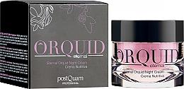 Düfte, Parfümerie und Kosmetik Feuchtigkeitsspendende und straffende Nachtcreme - PostQuam Orquid Eternal Moisturizing Night Cream