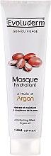 Düfte, Parfümerie und Kosmetik Feuchtigkeitsspendende Gesichtsmaske mit Arganöl - Evoluderm Soin du Visage Argan Mask
