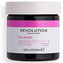 Düfte, Parfümerie und Kosmetik Beruhigende Nachtmaske für das Gesicht mit Mondstein und Hanfextrakt - Revolution Skincare Stressed Mood Calming Night Face Mask