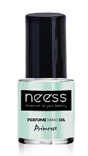 Düfte, Parfümerie und Kosmetik Regenerierendes Nagelöl - Neess Perfume Mani Oil Primrose