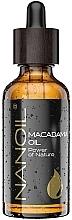 Düfte, Parfümerie und Kosmetik Macadamia-Öl für Gesicht, Haar und Körper - Nanoil Body Face and Hair Macadamia Oil