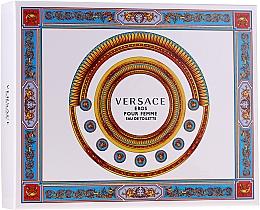 Düfte, Parfümerie und Kosmetik Versace Eros Pour Femme - Duftset (edt/50ml + b/lot/50ml + sh/gel/50ml)