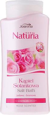 Badesalz mit Rosenduft - Joanna Nuturia Body Spa Salt Bath Rose Scented — Bild N1