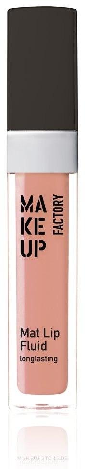 Lipgloss - Make up Factory Mat Lip Fluid Longlasting — Bild 12 - Reflecting Shell