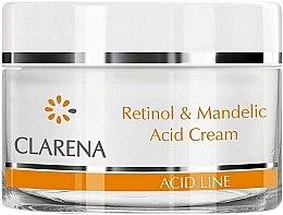 Düfte, Parfümerie und Kosmetik Anti-Falten Gesichtscreme mit Mandelsäure und Retinol - Clarena Retinol & Mandelic Acid Cream