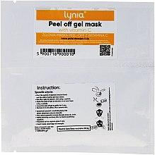Düfte, Parfümerie und Kosmetik Peel-Off-Gelmaske für das Gesicht mit Vitamin C - Lynia Peel Off Gel Mask Vitamin C