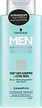 Düfte, Parfümerie und Kosmetik Anti-Schuppen Shampoo - Schwarzkopf Men Deep Effect 3 Zinc Anti-Dandruff+Oil Control Shampoo