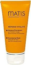 Düfte, Parfümerie und Kosmetik Cremige und perlmuttartige Gelmaske mit aktivem Vitaminkomplex - Matis Reponse Vitalite Energising mask