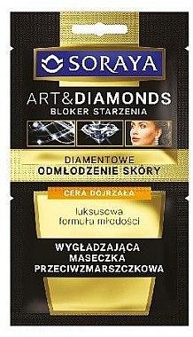 Glättende Anti-Falten Gesichtsmaske - Soraya Art&Diamonds Face Mask 40+ — Bild N1