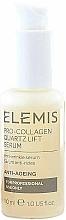 Düfte, Parfümerie und Kosmetik Straffendes, glättendes und feuchtigkeitsspendendes Anti-Falten Gesichtsserum - Elemis Pro-Collagen Quartz Lift Serum (Salon Size)