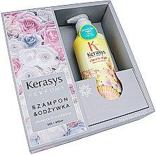Düfte, Parfümerie und Kosmetik Haarpflegeset - KeraSys Glam & Stylish (Shampoo 600ml + Haarspülung 600ml)