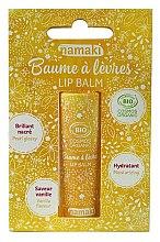 Düfte, Parfümerie und Kosmetik Bio Lippenbalsam Vanille - Namaki
