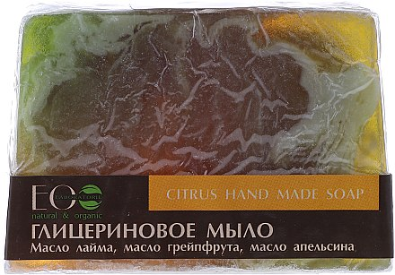 Handgemachte Glycerinseife Zitrus - ECO Laboratorie Citrus Hand Made Soap — Bild N1