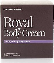 Düfte, Parfümerie und Kosmetik Straffende Körpercreme mit Extrakt aus schwarzem Kaviar und weißem Flachsöl - Natura Siberica Fresh Spa Imperial Caviar Royal Body Cream