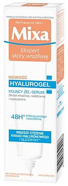 Intensiv feuchtigkeitsspendendes und beruhigendes Gesichtsgel-Serum für empfindliche, reaktive und trockene Haut - Mixa Sensitive Skin Expert Hyalurogel — Bild N1