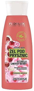 Duschgel - Floslek Juicy Fruit Shower Gel Acerola&Cherry Berry — Bild N1