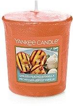 Düfte, Parfümerie und Kosmetik Votivkerze Grilled Peaches & Vanilla - Yankee Candle Grilled Peaches & Vanila Votive