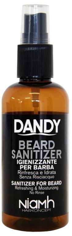 Bart- und Schnurrbartspray - Niamh Hairconcept Dandy Beard Sanitizer Refreshing & Moisturizing