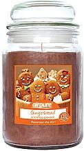 Düfte, Parfümerie und Kosmetik Duftkerze im Glas Gingerbread - Airpure Jar Scented Candle Gingerbread