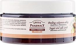 """Düfte, Parfümerie und Kosmetik Zucker-Salz Körperpeeling """"Sheabutter und Grünkaffee"""" - Green Pharmacy"""