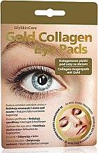 Düfte, Parfümerie und Kosmetik Augenpatsches mit Kollagen - GlySkinCare Gold Collagen Eye Pads