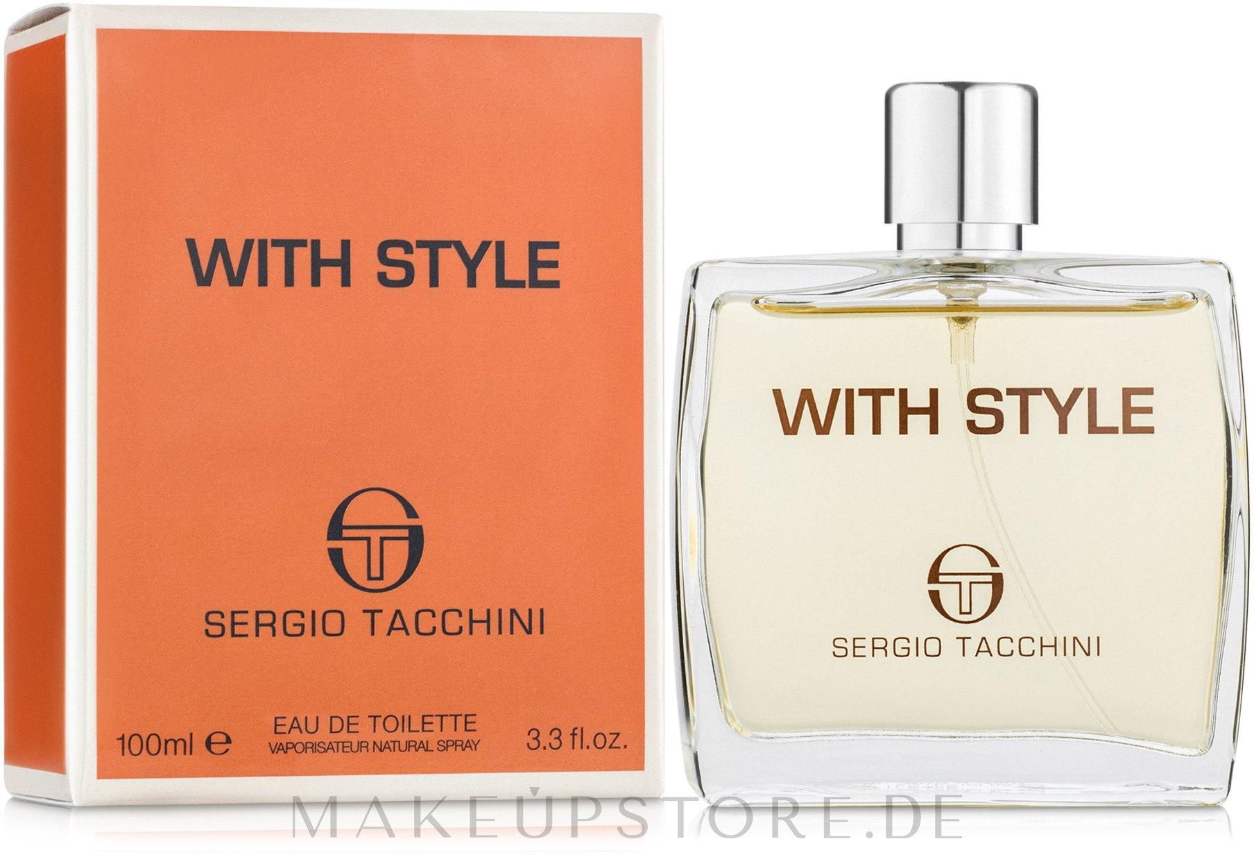 Sergio Tacchini With Style - Eau de Toilette — Bild 30 ml