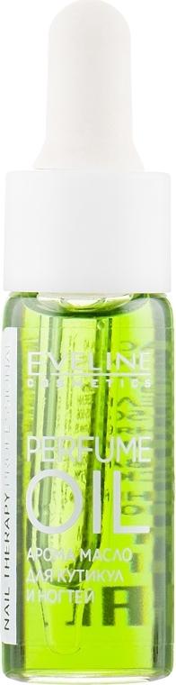 Parfümöl für Nagelhaut und Nägel - Eveline Cosmetics Nail Therapy Professional Green Paradise — Bild N2
