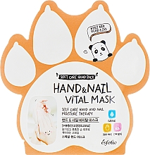 Düfte, Parfümerie und Kosmetik Vitaminmaske für Hände und Nägel - Esfolio Hand & Nail Vital Mask
