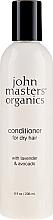 Düfte, Parfümerie und Kosmetik Conditioner für trockenes Haar mit Lavendel und Avocado - John Masters Organics Conditioner For Dry Hair Lavender & Avocado