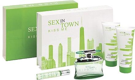 Concept V Design Sex In Town Kiss Me - Duftset (Eau de Parfum 100ml + Körperlotion 200ml + Duschgel 200ml + Eau de Parfum 20ml) — Bild N1