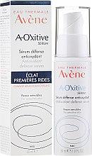 Düfte, Parfümerie und Kosmetik Aufhellendes und antioxidatives Gesichtsserum - Avene A-Oxitive Antioxidant Defense Serum Sensitive Skins